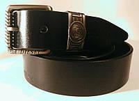 Ремень мужской кожаный(джинс) DIESEL.Пряжка классическая