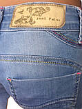 Джинсовые женские шорты just point 023 голубые, фото 5
