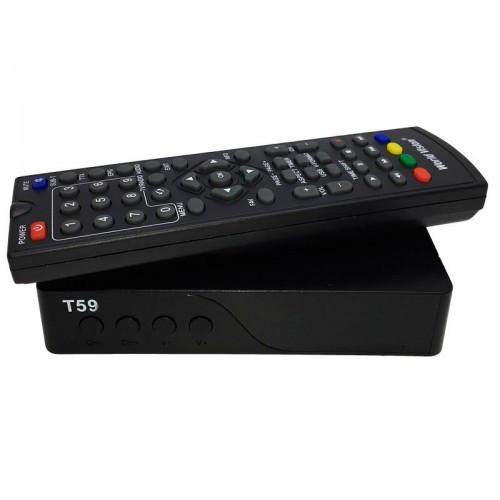 Цифровий ефірний ресивер World Vision T59 DVB-T2