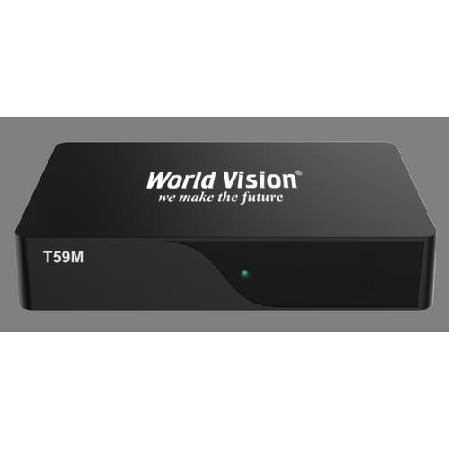 Ефірний ресивер World Vision T59M T2
