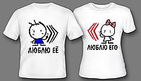 Оперативная печать логотипа на футболках