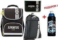 "Комплект. Рюкзак школьный каркасный  FC Juventus JV17-501S + пенал + сумка, ТМ ""Kite"""