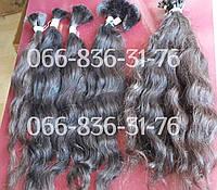 Кудрявые волосы на капсулах для наращивания славянские., фото 1