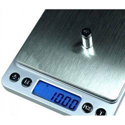 Ювелірні електронні ваги з 2ма чашами 0,01-500гр