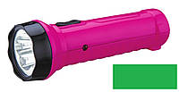 Перезаряжаемый ручной LED фонарик PELE-1-GREEN, фото 1