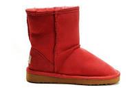 Детские UGG Classic Short red