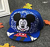 Кепка Mickey Mouse с прямым козырьком для мальчика. 50-54 см