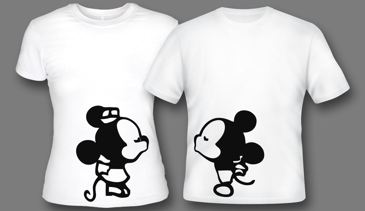 Картинки для парных футболок шаблоны