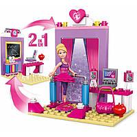 Конструктор Мега Блокс Барби 2в1 балерина-учитель Mega Bloks® Barbie™ Prima Ballerina to School Teacher