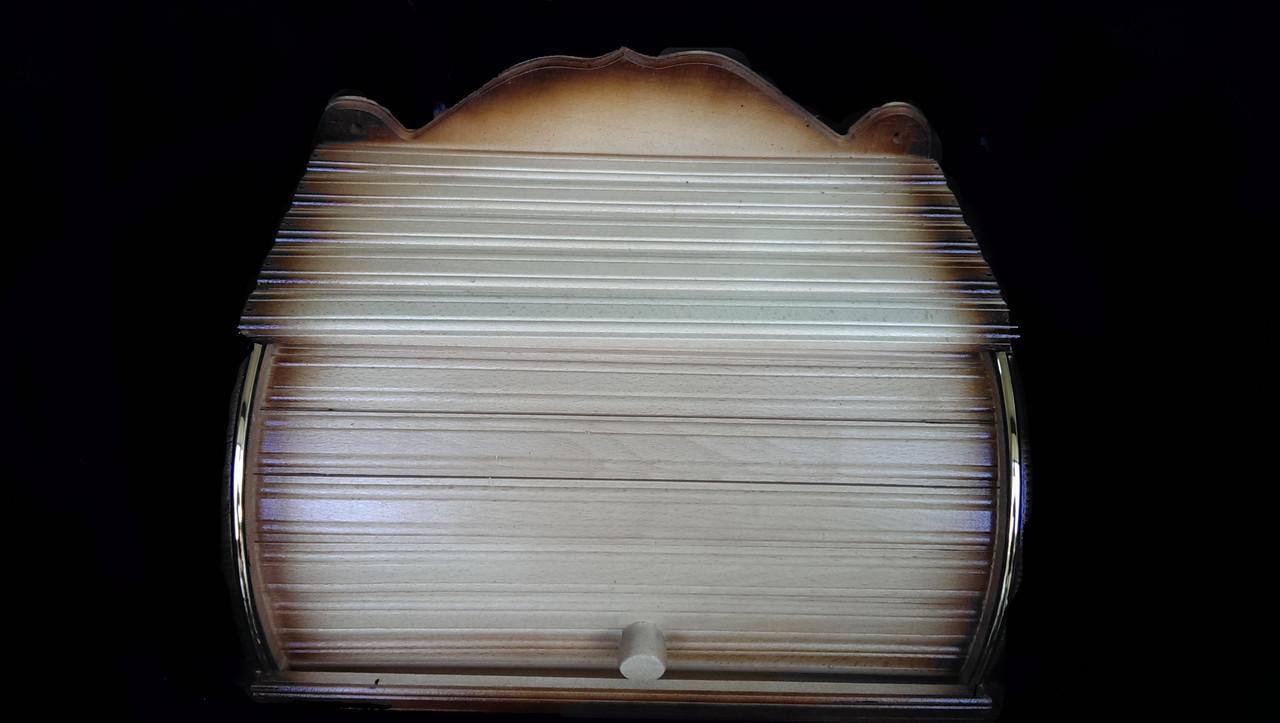 Хлебница деревянная настенная 40*29*17