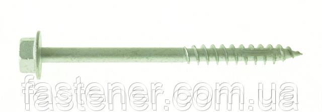 Саморез по дереву Cutters 10,0х120, шестигр. гол. HEX, с покр. Сorrseal, упак.- 25 шт, Швеция