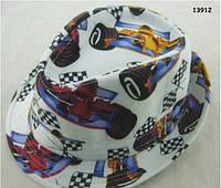 """Шляпа """"Гоночная машина"""" для мальчика. 54 см"""