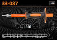 Зубило остроконечное с защитой 300мм., NEO 33-087