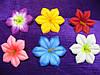 Пресс клематис.Головки искусственных цветов