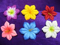 Пресс клематис.Головки искусственных цветов, фото 1