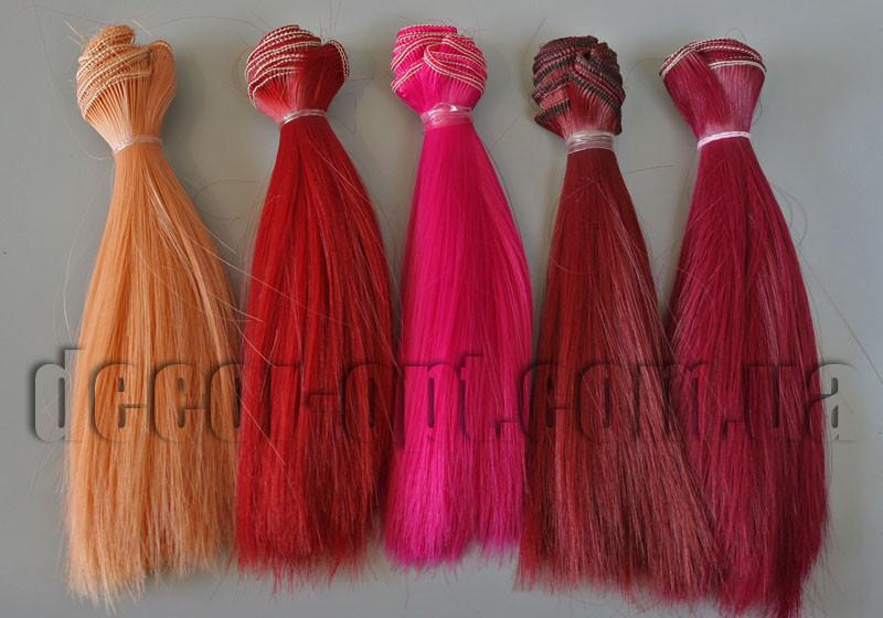 Волосы для кукол прямые 15см/~1м