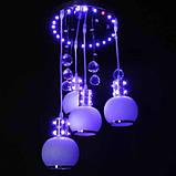 Потолочная люстра LED IMPERIA четырехламповая со светодиодной подсветкой LUX-510202, фото 2
