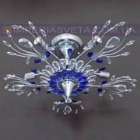 Люстра хрустальная припотолочная IMPERIA семиламповая LUX-342413