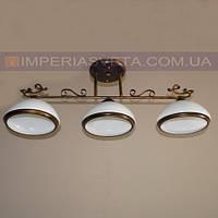 Кованая люстра под старину IMPERIA трехламповая LUX-520256