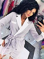 """Летний женский костюм в полоску """"Jita"""" с шортами и жакетом (2 цвета)"""