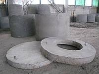 Колодезные и канализационные кольца, крышки, днища