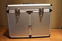 Кейс металлический для косметики и инструментов