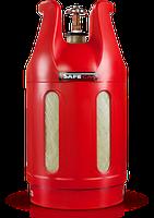 Безпечний газовий балон 24 л Safegas (Індія) (Доставка за наш рахунок)