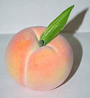 Искусственный персик, муляж фруктов, фрукты для декора