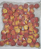 Искусственны персики упаковка, муляж фруктов, фрукты для декора