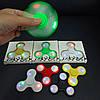 Игрушка антистресс со светодиодами Fidget Spinner LED салатовый., фото 4