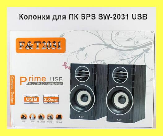 Колонки для ПК SPS SW-2031 USB!Опт