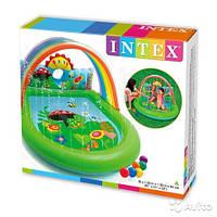 Игровой центр Intex 57421 Радуга с фонтаном  ( 224 х 150 х 99 см) в коробке (36 х 30 х 11.5 см)