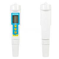 Комбинированный влагозащищённый TDS/рН/Temp-метр PH/TDS-986 с термометром