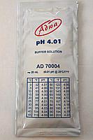 Готовый калибровочный раствор Adwa AD70004 для pН-метров (pН 4.01 ±0.01, 20 мл)