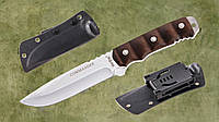 Нож нескладной 24114, нож для охоты, нож с чехлом