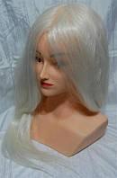 Голова манекена с плечами и натуральными термостойкими волосами YRE-4-PN-RW-G YRE