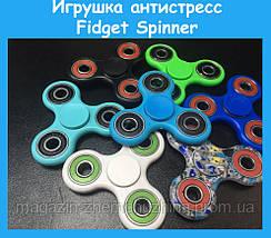 Игрушка антистресс Fidget Spinner красный, фото 3