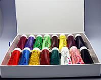 Набор акриловых красок 16 цветов 22мл, краски акриловые YRE YCR-06, набор красок 3D для ногтей