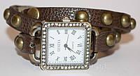Женские наручные часы с длинным ремешком, женские квадратные часы