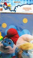Скатерть праздничная Смурфики Smurfs лицензионная