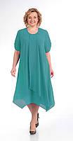 Платье Novella Sharm-2759-1 белорусский трикотаж, бирюза, 58