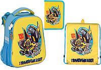 """Комплект школьный. Рюкзак """"Transformers"""" TF17-531M, Пенал и Сумка, ТМ  KITE"""
