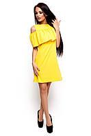 Платье с воланом  Реми, фото 1