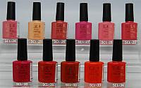 Гель-лак YRE SCL 10 ml, цветное покрытие №24-34, интернет магазин гель лаков