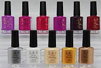 Гель-лак YRE SCL 10 ml, цветное покрытие №58-69, профессиональный гель лак