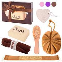 Набор банный подарочный в коробке, 6 предметов