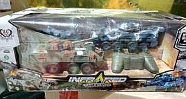Танковый бой на радиоуправлении Infra Red