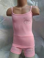 Детские комплекты для девочек EMPORIO ARMANI, GUCCI, LOUIS VUITTON. Состав 90% cotton, 10% lycra.