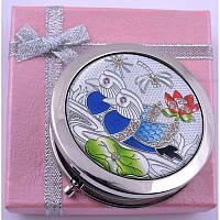 Маленькое складное зеркальце в подарочной упаковке Персидский узор