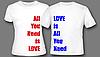 Прикольные Парные футболки